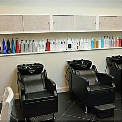 Shampoo & Processing Area