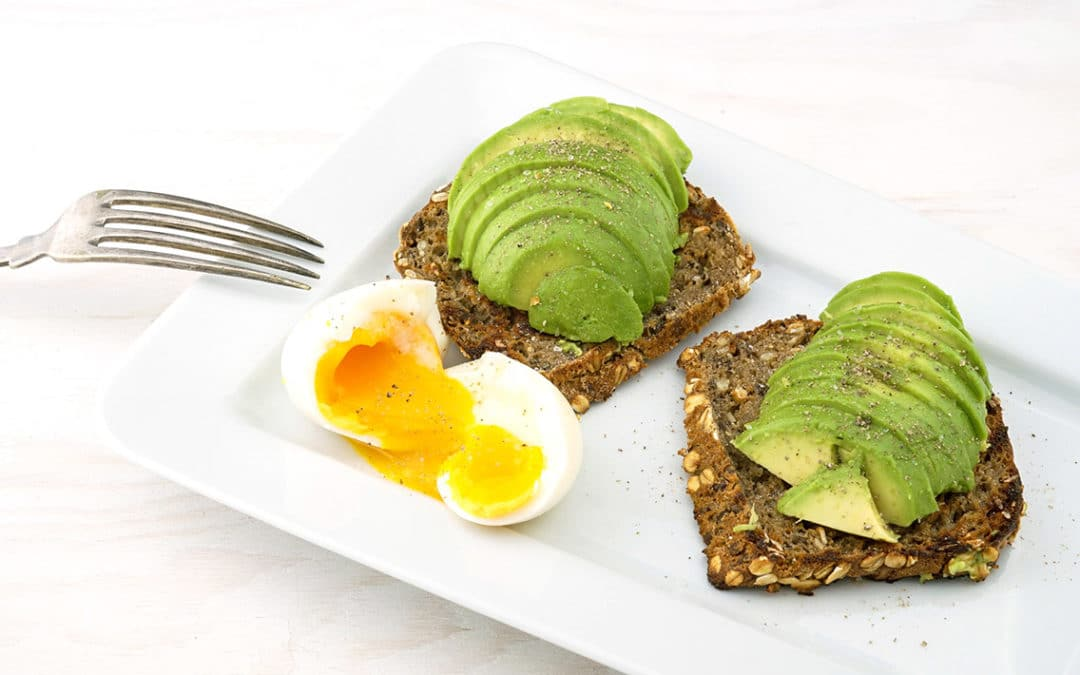Foods for awesome hair avocado eggs